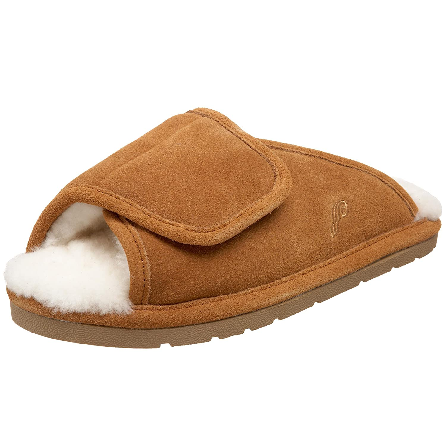 Lamo Women's Sheepskin Wrap Slipper B002J9HFH6 Small(5-6 US)|Chestnut