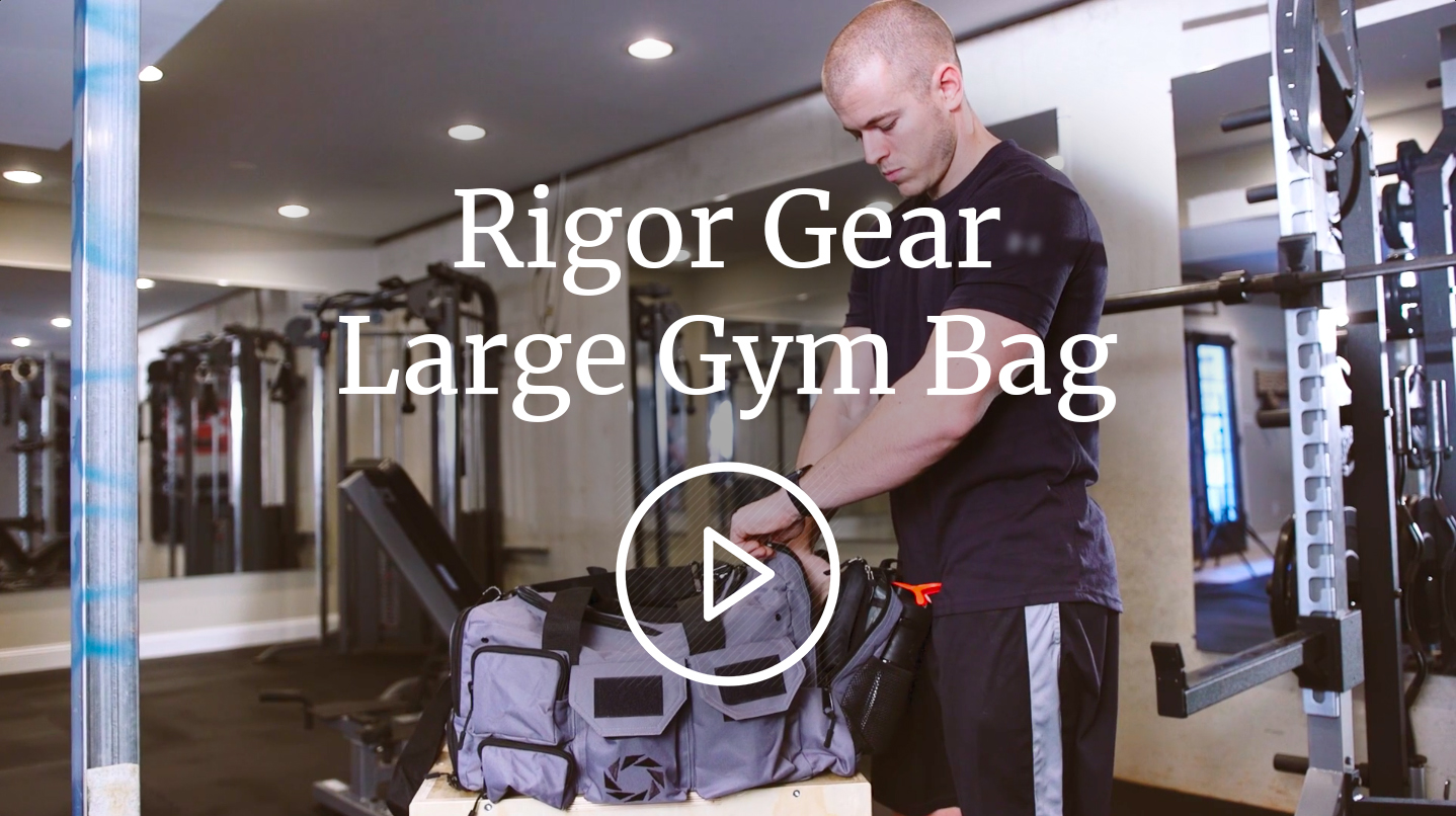 23ebcff9674a20 WODSuperStore Large Gym Bag with Shoe Compartment - by Rigor Gear - Workout  Bag for Men & Women with Wet & Dry Pocket, Water Bottle Holder - Zipper &  Velcro ...