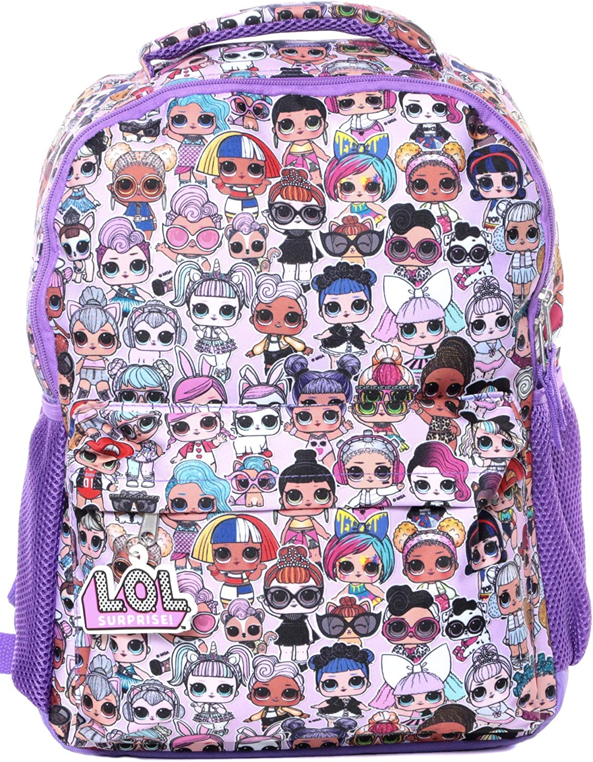 L.O.L. Surprise Purple 16 Backpack