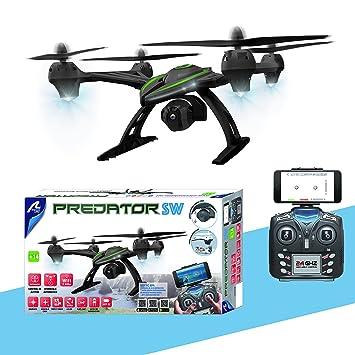 Drone PREDATOR FPV WiFi: Amazon.es: Juguetes y juegos