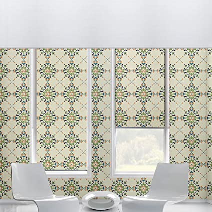 Vintage With Victorian Motifs Self Adhesive Wallpaper