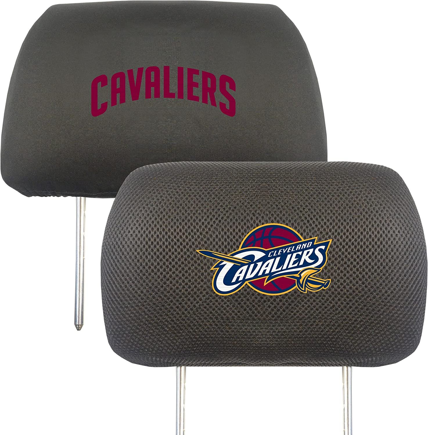 NBA Cleveland Cavaliers Head Rest Cover 10 x 13//Small Black