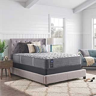 product image for Sealy Posturepedic Plus, Tight Top 13 Medium Mattress with AllergenProtect and 5-Inch Foundation, Twin XL, Grey