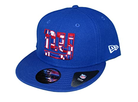 bd5475c3 Image Unavailable. Image not available for. Color: New York Giants New Era  Snapback One Size Fits Most Hat Cap ...