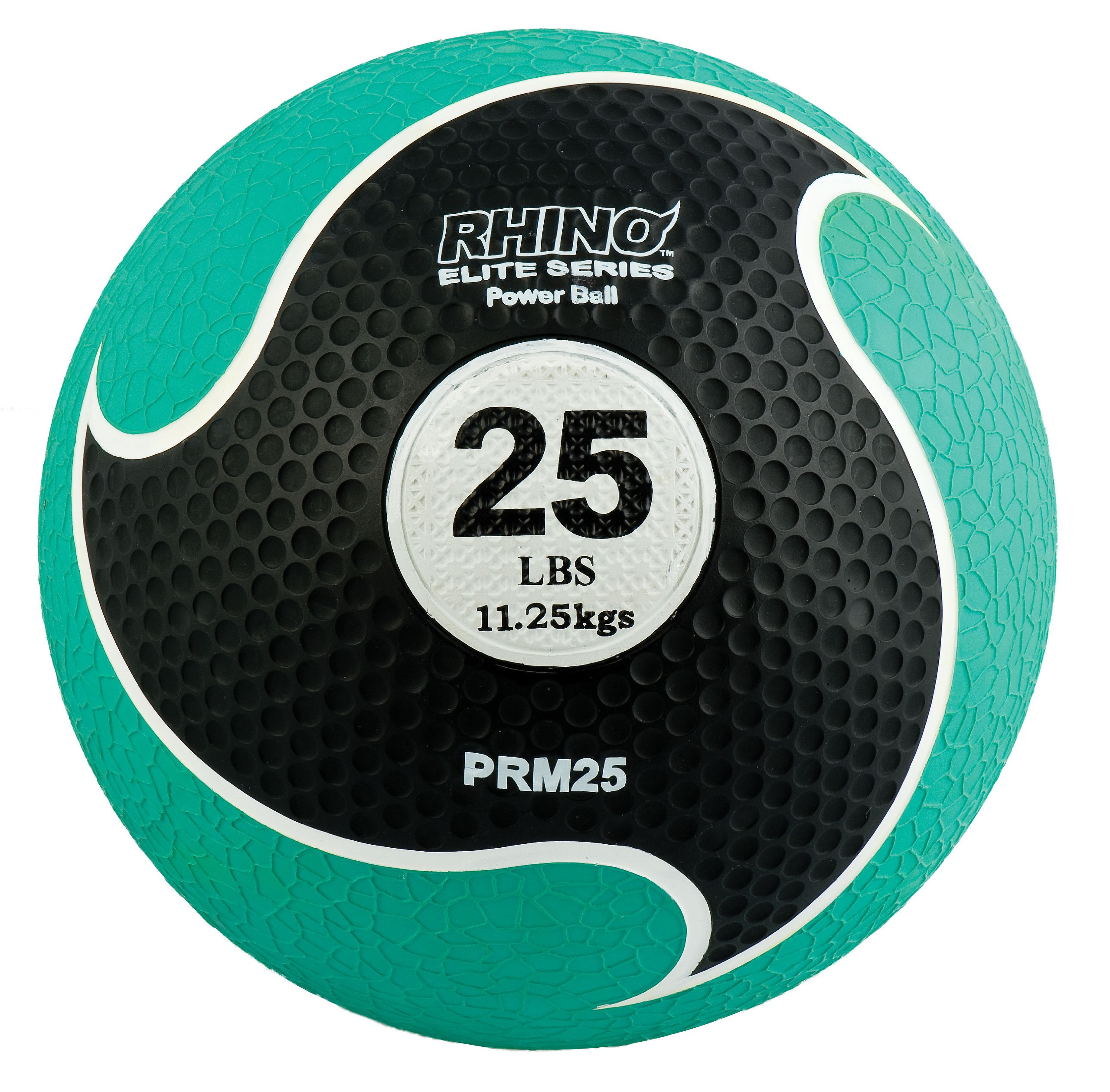 Champion Sports Rhino Elite Medicine Ball (25 pounds), Green
