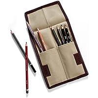 Derwent 2300219 kalem saklama çanta taşıyıcı (12 kalem için) haki