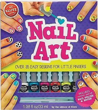 Klutz 35 Easy Designs For Little Fingers Nail Art