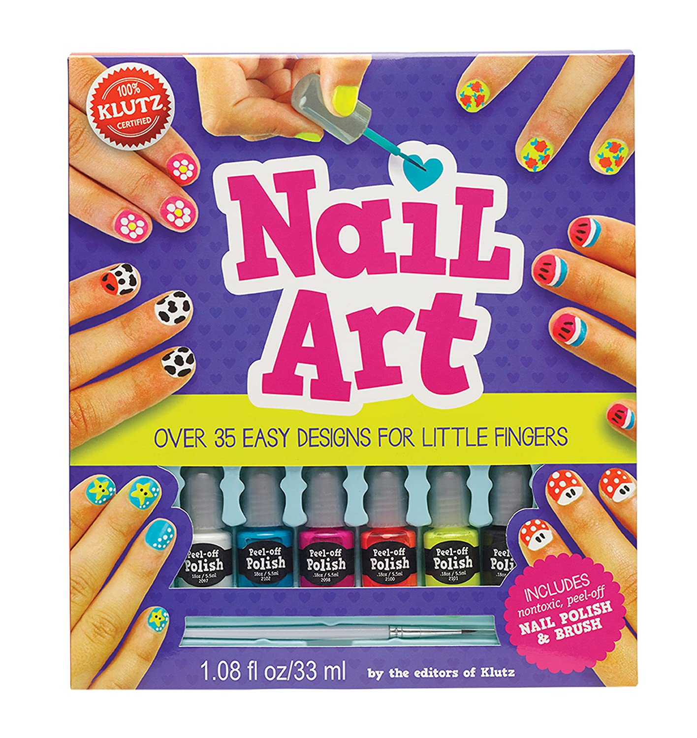 Amazon Klutz Nail Art Craft Kit The Editors Of Klutz Toys Games