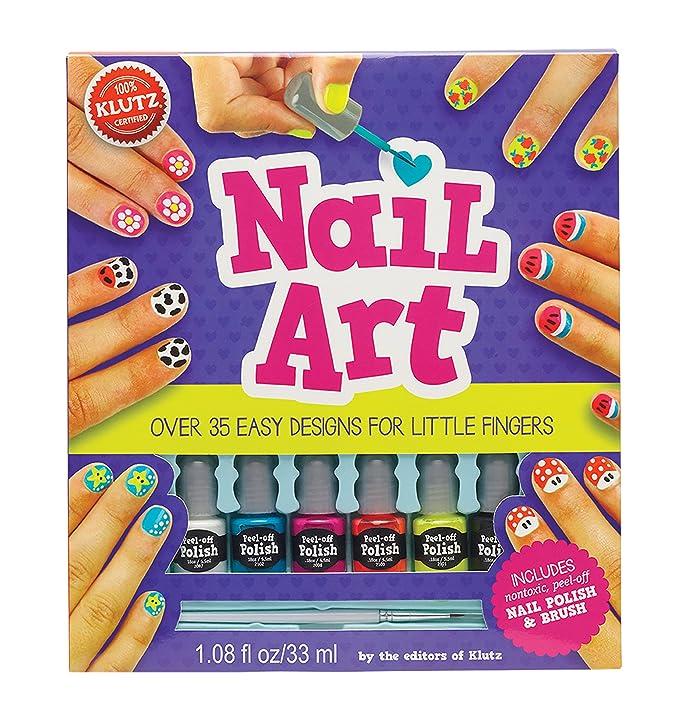 Amazon Klutz Nail Art Craft Kit The Editors Of Klutz Toys Games