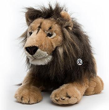 Scary Squeeze Stuffed Animals, Kuscheltiere Biz Lion Aslan Lying 97 Cm Plush Toy Wobbly Plush Animal Amazon Co Uk Toys Games
