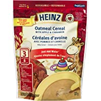 HEINZ Oatmeal Cereal with Apple & Cinnamon,  6 Pack, 227G Each