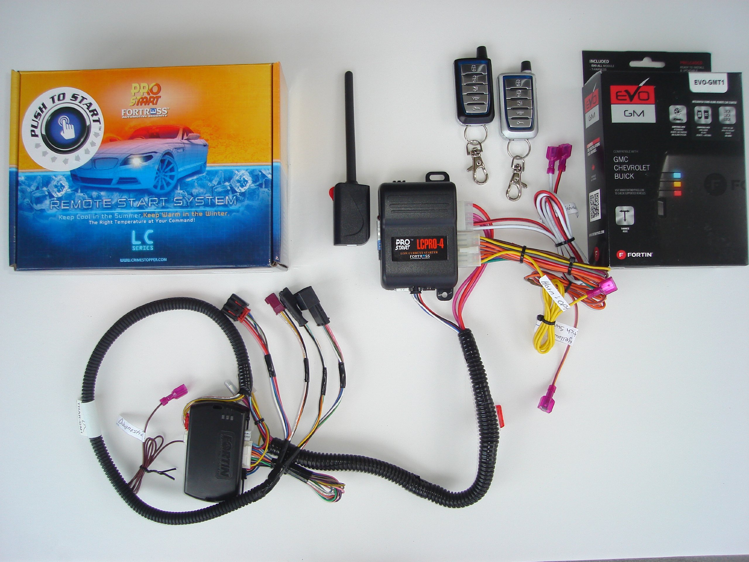 Remote Starter Kit w/ Keyless Entry for Chevrolet Camaro - True Plug & Play Installation