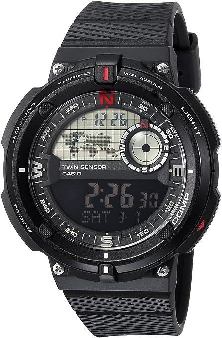 Sensor DoblePara Casio Hombre Casual Reloj Con Sgw600h m8nwvNO0