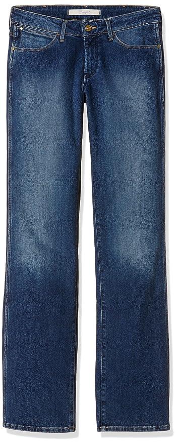 Womens Sara Meadow Blue Jeans Wrangler cfa8os