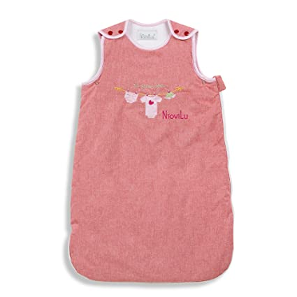 NioviLu Saco de dormir para bebé - Ma garde robe (0-6 meses /