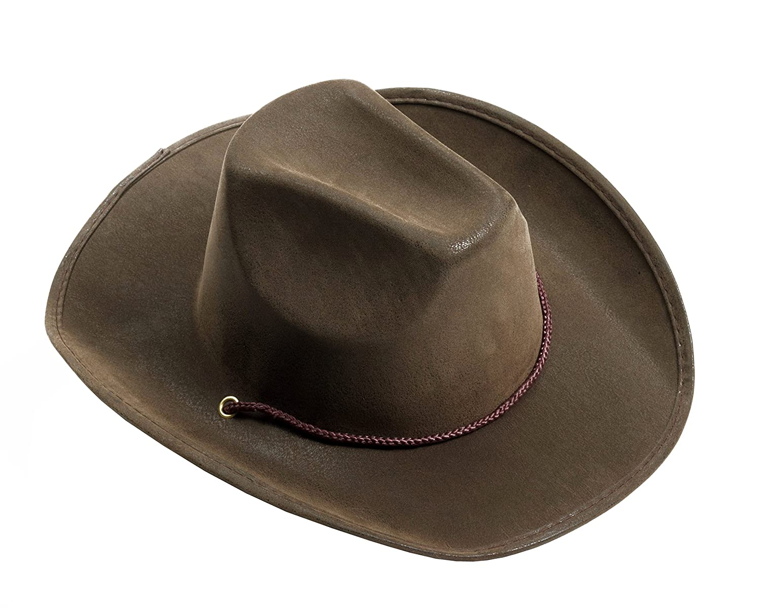 Forum Novelties Men's Adult Suede Cowboy Hat Brown One Size Forum Novelties Costumes 72309