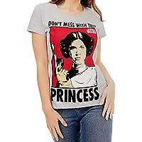 Star Wars Camiseta para Mujer Princesa Leia
