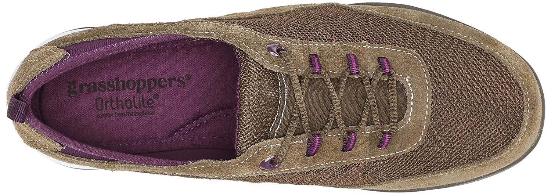 Grasshoppers Women's Explore Lace Fashion Sneaker B00Y5NOAKY 5 B(M) US|Olive