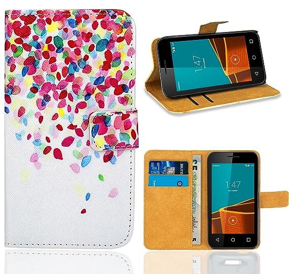buy popular c2780 ff999 Amazon.com: Vodafone Smart First 6 Case, FoneExpert Premium Leather ...