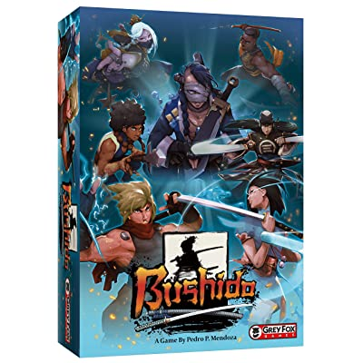 Grey Fox Games Bushido Board Game: Toys & Games [5Bkhe0200506]