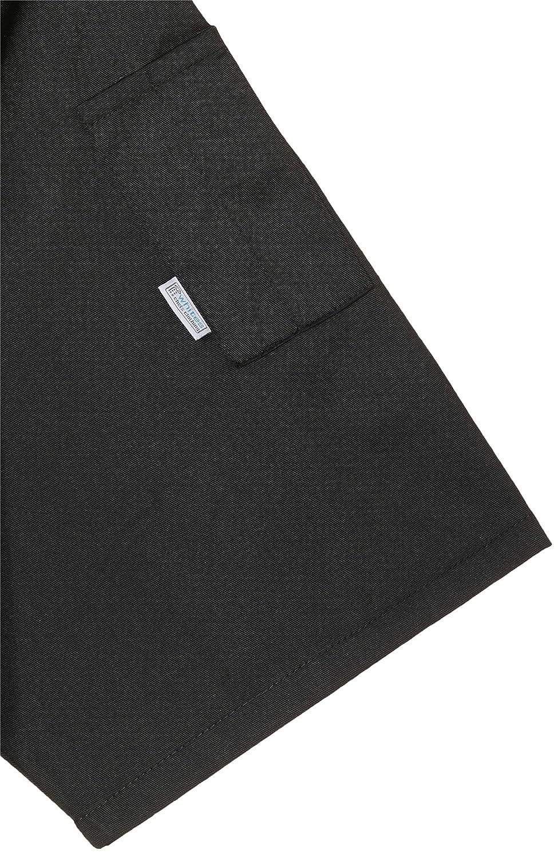 nero manica corta Whites Chefs Apparel a439-xs Vegas giacca da chef