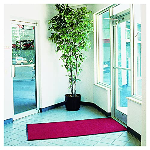 Crown GS35 CRE 5 Length x 3 Width x 3 8 Thickness, Castellan Red Rely-On Olefin Indoor Wiper Mat