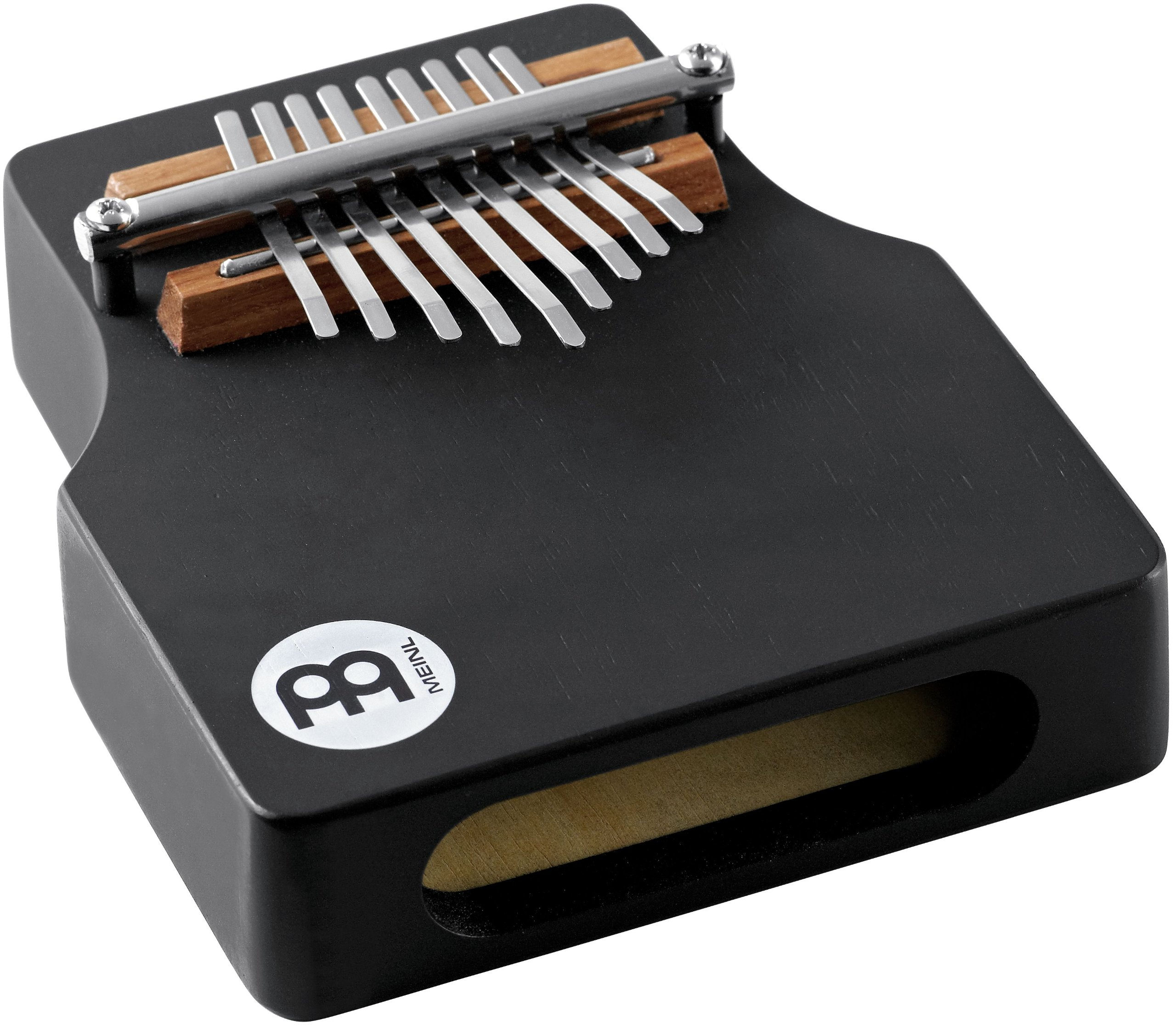Meinl Percussion KA9WW-BK Wah Wah Effect Wood Kalimba, Black