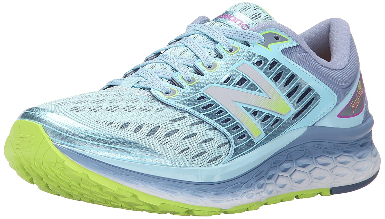 283dea4920d New Balance W1080v6 Women s Running Shoes (D Width) - 4.5 Blue   Amazon.co.uk  Shoes   Bags