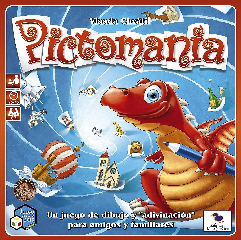 Ediciones MasQueoca - Pictomania (Español): MASQUEOCA: Amazon.es: Juguetes y juegos