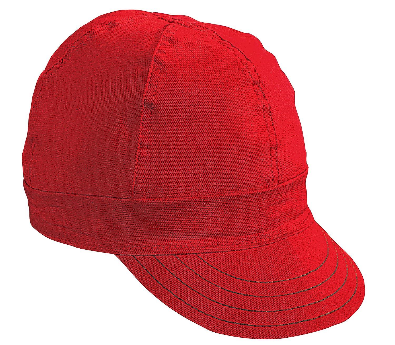 Width 6 Cotton Mutual Industries 00052-00000-7625 Kromer Red Twill Style Welder Cap 7 5//8 Length 5