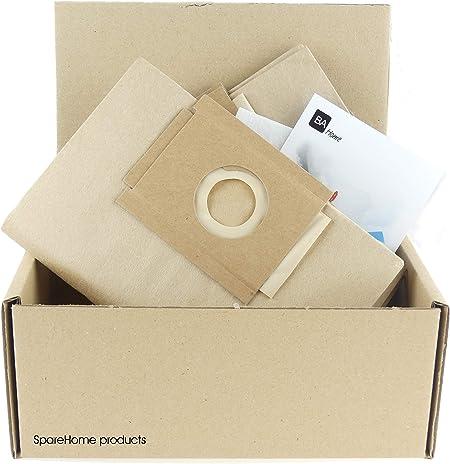 SpareHome 10 Bolsas para Aspirador Solac Modelos: Handy 904, Handy 905, Parchis: Amazon.es: Hogar