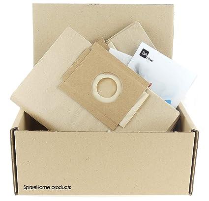 SpareHome 10 Bolsas para Aspirador Solac Modelos: Handy 904 ...