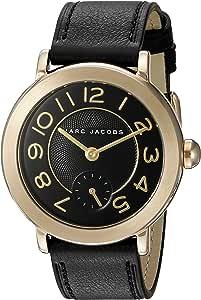 Marc Jacobs Women's Riley Black Leather Watch - MJ1471
