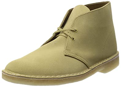 reputable site e4f3d a3fc0 Clarks Mens Desert Boot Maple Ankle Boots