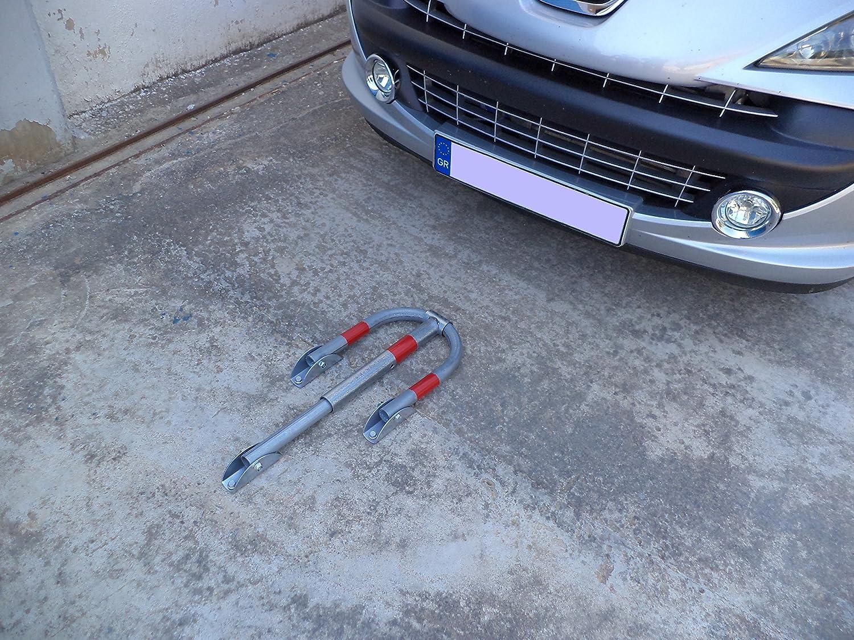 PB-3LS Barriere de parking pliante avec cadenas 30cm x 40cm