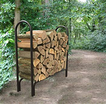 Panacea Deluxe 4 Feet Firewood Rack