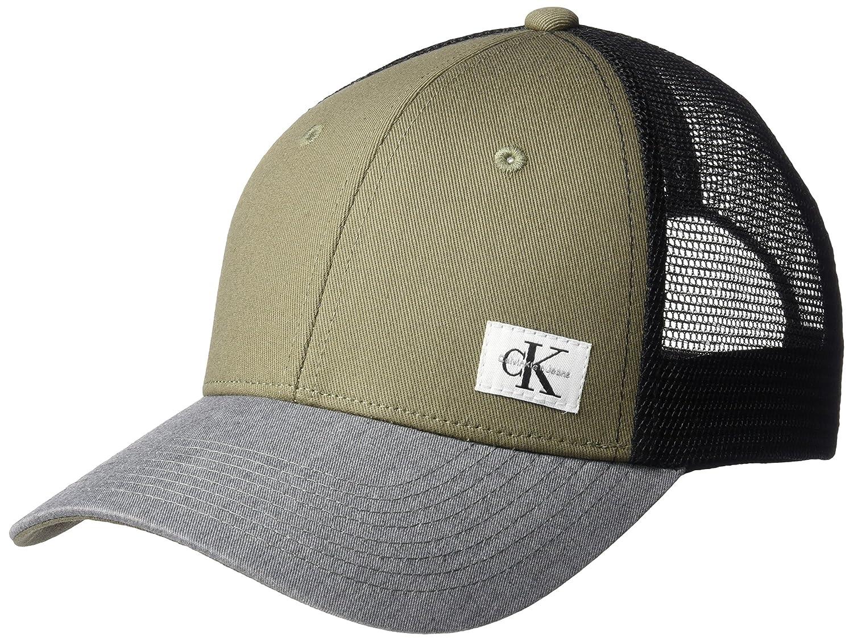 6e0d267865d Calvin Klein Jeans Men s Snapback Trucker Hat