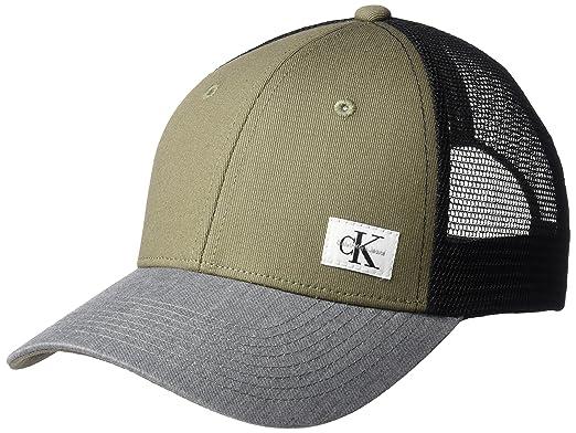 a222cd12683 Calvin Klein Jeans Men s Snapback Trucker Hat