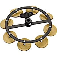 Meinl Cymbals Sand Blasted Hihat Tambourine for a Dry and Vintage Sound, Designed with Benny Greb — NOT MADE IN CHINA…