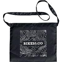 Bikes&.co Musette Tasche für Radfahren, Schwarze Konturlinien