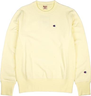 light yellow champion hoodie