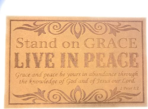 Christianbook.com Stand on Grace Doormat
