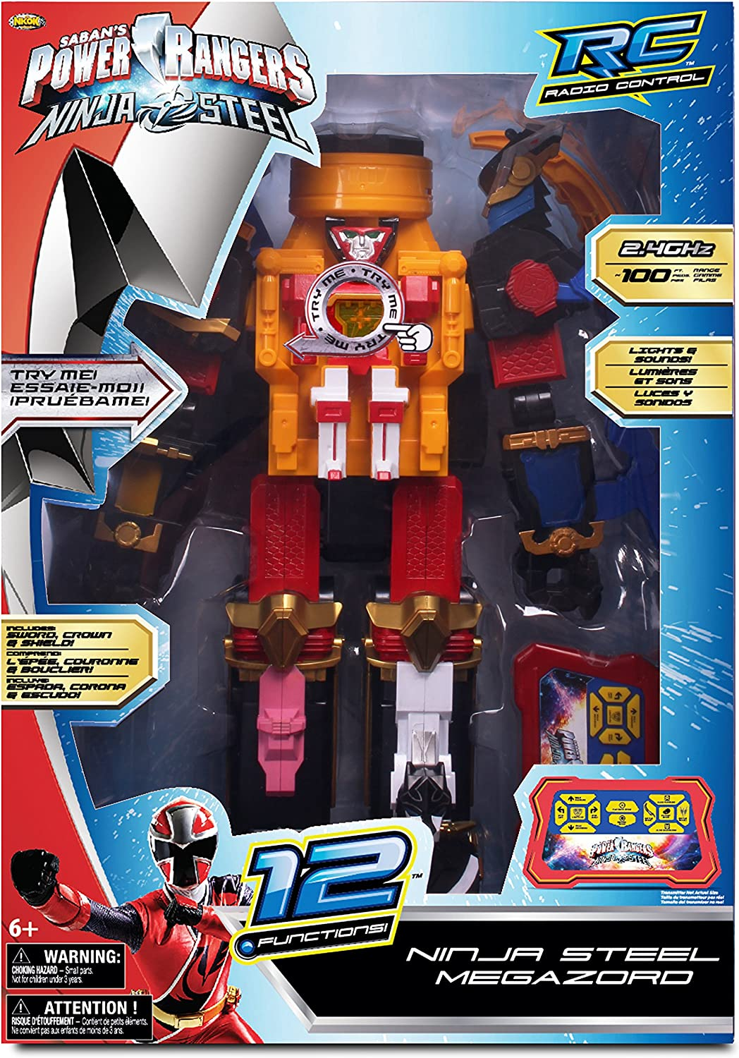 Amazon.com: NKOK RC Power Rangers Megazords: Toys & Games