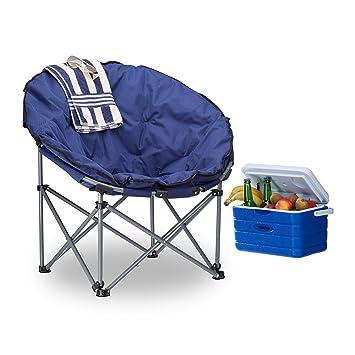 Magnificent Amazon Com Relaxdays Camping Moon Chair 120 Kg Uwap Interior Chair Design Uwaporg