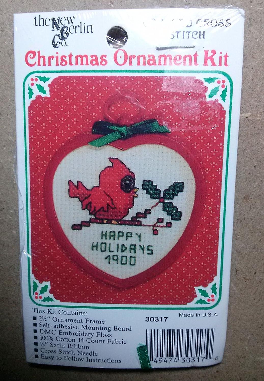 Amazon The New Berlin Christmas Ornament Kit Cross Stitch