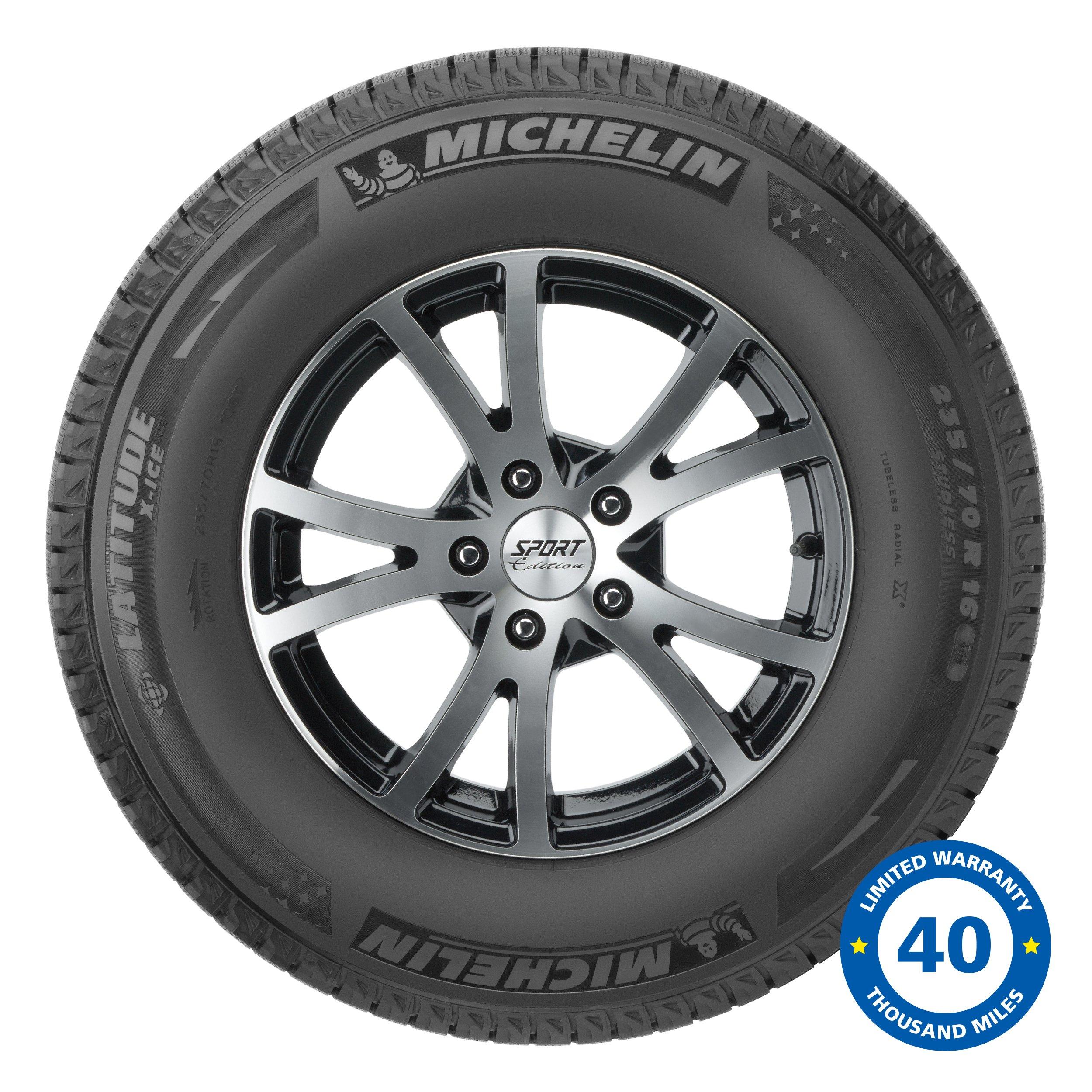 Michelin Latitude X-Ice XI2 Winter Radial Tire - 265/70R17 115T