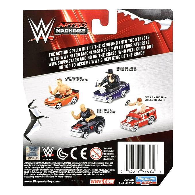 Amazon.com: Teenage Mutant Ninja Turtles WWE Nitro máquinas ...