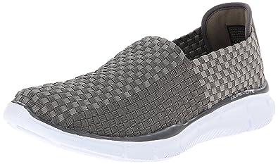 Skechers Sport Men's Equalizer Familiar Slip-On Loafer,Charcoal,7.5 ...