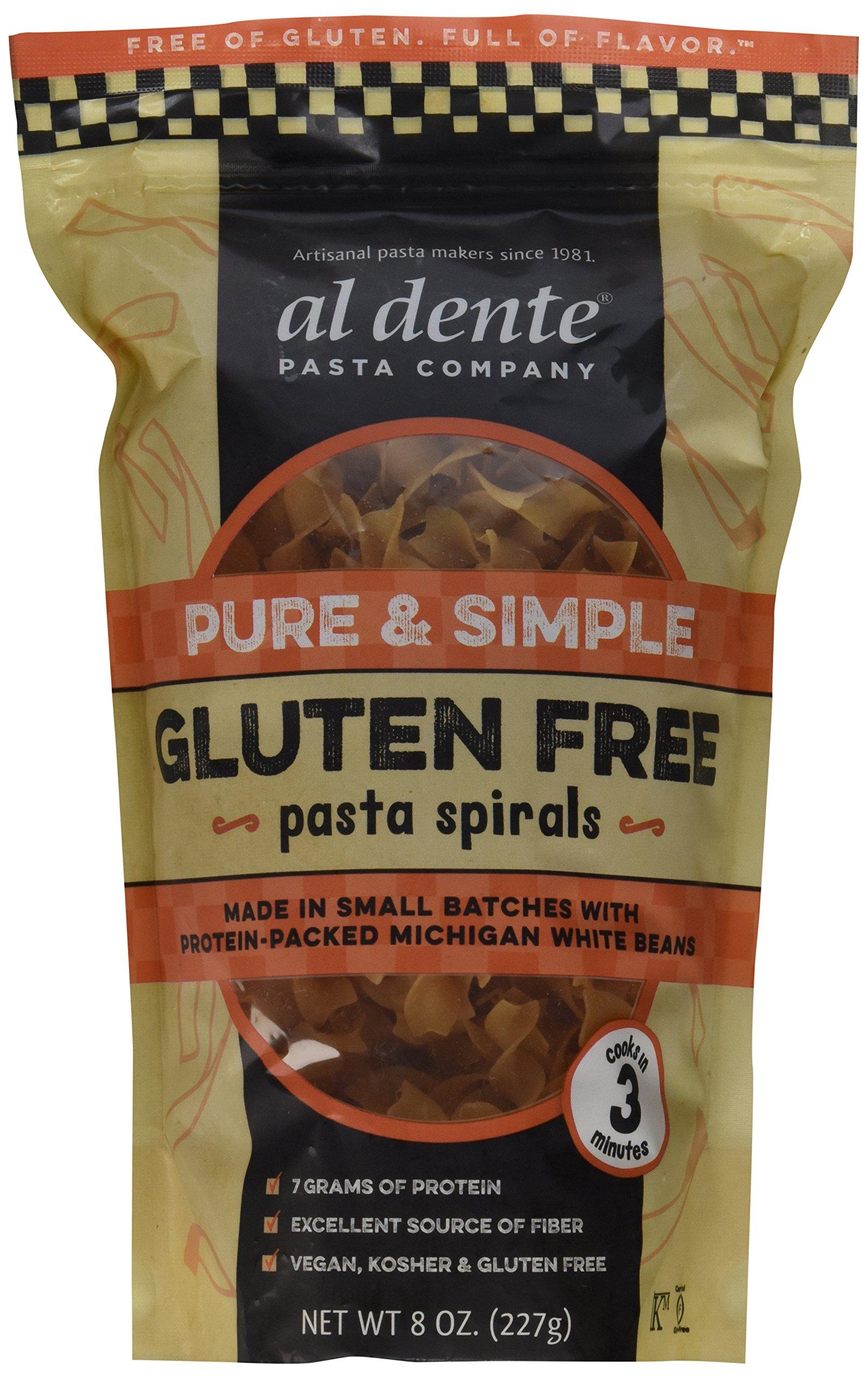 Al Dente Pure & Simple Gluten Free Pasta Spirals, 6Count by AL DENTE