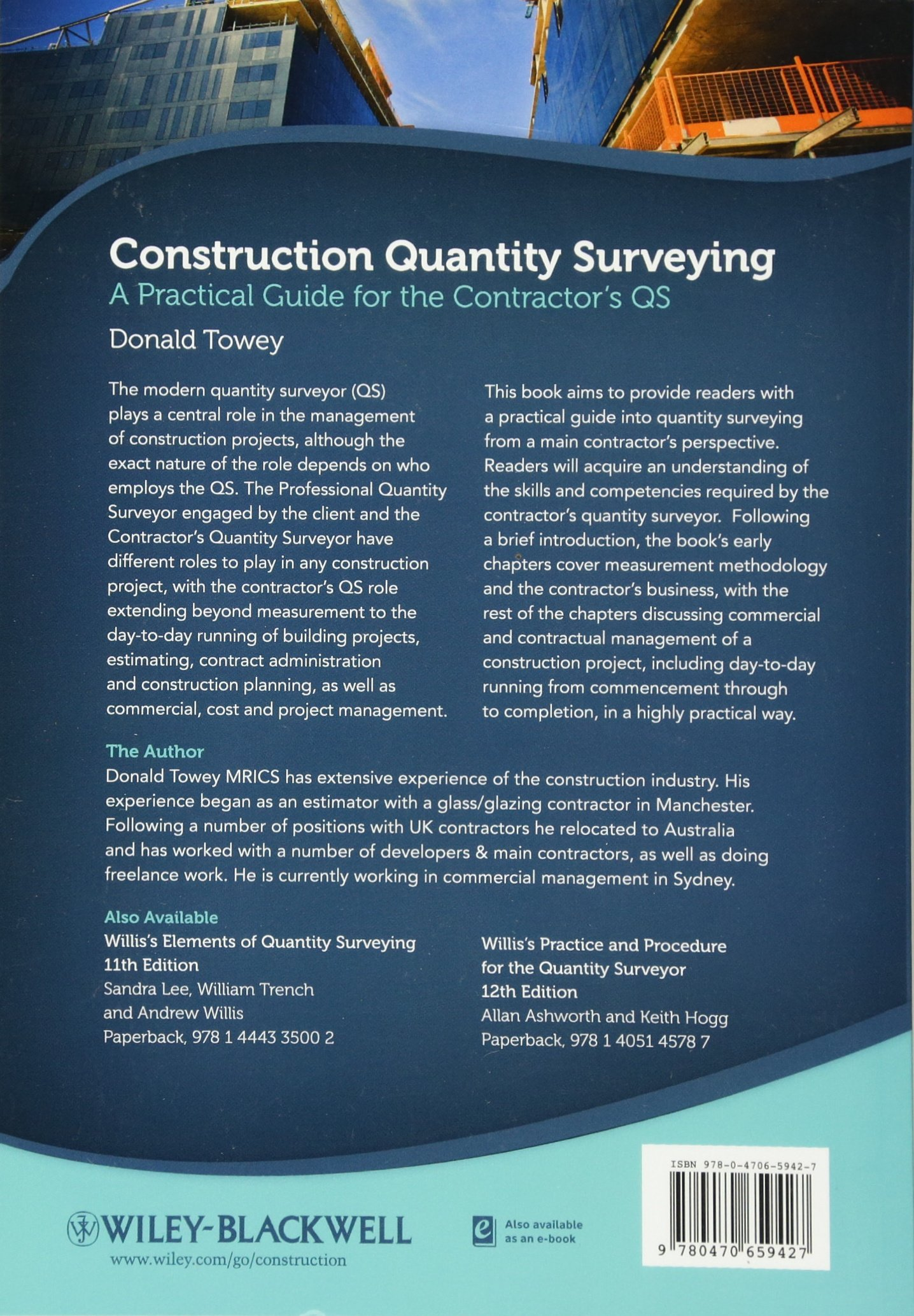 Quantity Surveying Book Pdf